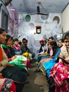 Celebration of Lohri and Maghi